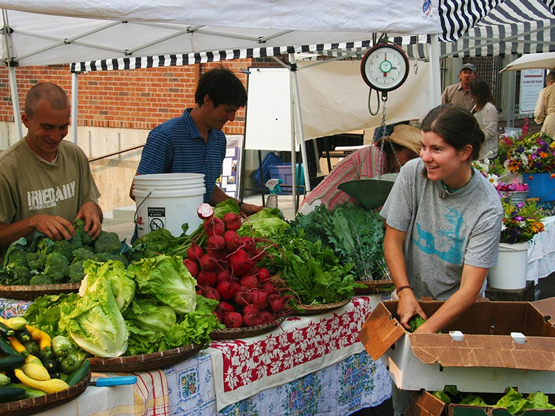 Farms and Farmer's Markets are a part of Nevada Counties healthy lifestyle